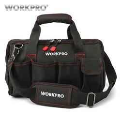 Bolsa de herramientas impermeable para hombre, bolsas de viaje, bolsas de herramientas para hombre, bolsas de herramientas de gran capacidad, envío gratis, 4 tamaños (12, 14, 16 18 pulgadas)