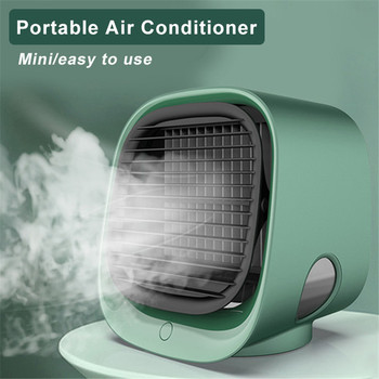 New Air Conditioner Mini Portable Home Air Conditioning Humidifier Purifier USB Desktop Air Cooler Fan for Office Room