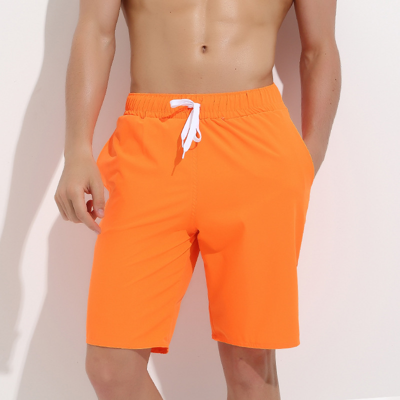 Sbart Quick-Dry Beach Shorts Men's Loose-Fit Casual Beach Shorts Large Size Short Swimming Trunks Large Trunks