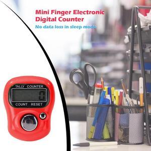 1 шт. мини-счетчик пальцев ЖК-электронный цифровой Счетчик Диапазон подсчета 0-99999 для шитья вязания инструмент для плетения