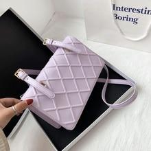 цена на Brand Design Small PU Leather Crossbody Bags for Women 2020 New Simple Solid Color Shoulder Handbags Female Cross Body Bag