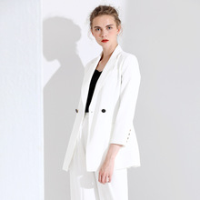 2019 Autumn new arrival women's fashion small blazers single button notched commuter simple slim blazers autmn female 3W19666