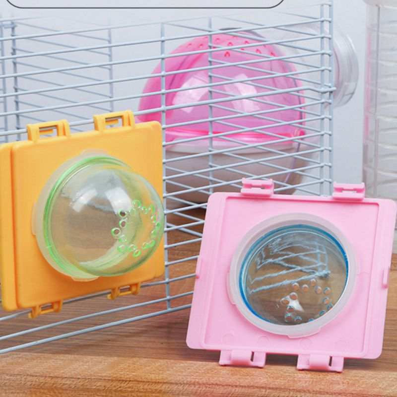 Hamster Tunnel External Tube Stopper Plug End Cap DIY Cage Baffle Accessories