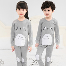 Pyjamas Kids Cotton Toddler Cartoon Totoro Children Pajamas Sets For Baby Girls Boys Long sleeve Sleepwear Pyjama Enfant Garcon