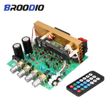 Bluetooth Subwoofer Amplifier Board 2.1 Channel 3*80W High Power Audio Amplifiers With TF Card U Disk FM AUX For Home Sound DIY