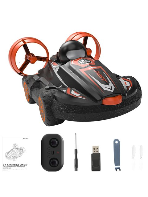 JJR/C Q86 2.4G 2-in-1 Amphibious Drift Car RC Hovercraft Speed Boat RC Stunt Car Toys Gift For Kid Outdoor Models Car 5