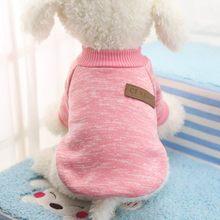 Köpek giysileri sıcak yavru kıyafet Pet ceket Coat kış köpek giysileri yumuşak kazak giyim küçük köpekler için Chihuahua.