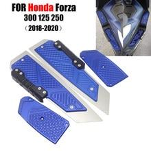 ホンダForza300 MF13 フォルツァ 300 125 250 2018 2019 2020 cncフットレストフットパッドペダルプレート部品