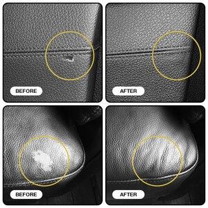 Image 4 - VISBELLA נוזל עור תיקון ערכת לשיקום ריהוט רכב מושבי ספה מעיל ארנק נעלי מנקה שחור תיקון יד כלי