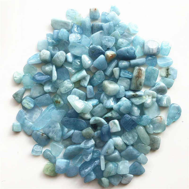 50g 8-12mm טבעי תרשיש קוורץ חצץ קריסטל סטון רוק שבבי דגימה מזל טבעי אבנים ומינרלים