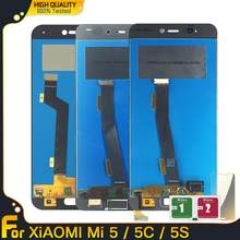 5.15'' LCD For Xiaomi Mi 5 5C 5S LCD Display Touch Screen Digitizer Panel Assembly Replacement For Xiaomi mi5 mi5c mi5s(China)