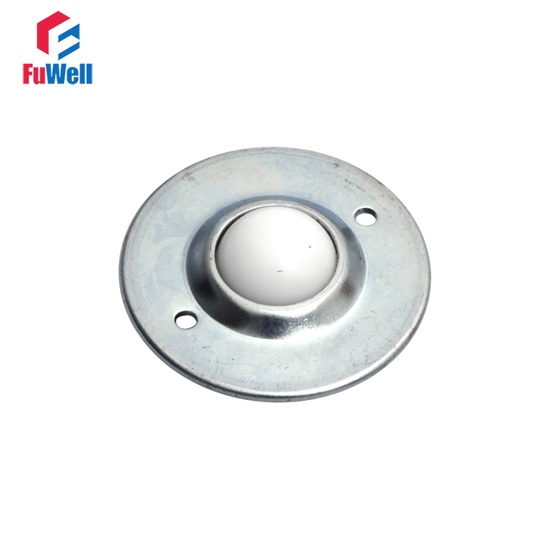 Flange Mounted Ball Transfer Unit Nylon Transfer Bearing Conveyor Roller Wheel CY-12B/16B/19B/25B/30B/38B Transfer Bearing Unit