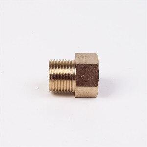 Image 5 - 真鍮高圧洗浄機カプラ M22 直径 15 ミリメートルオス M22 14 ミリメートルめねじコネクタ雌ねじホースパイプアダプタ