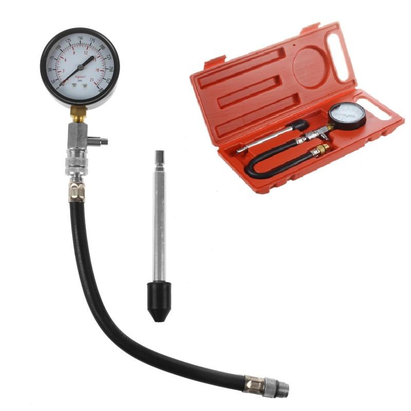 G-324 Automotive Auto Motor Gasoline Engine Compression Tester 0~300PSI 0J37