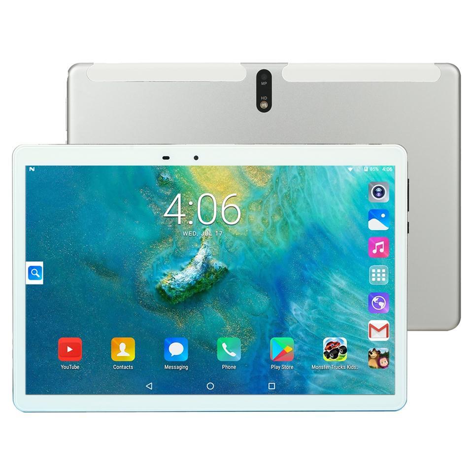 4G tablette réseau PC MT6762 X107 8 Octa Core caméra 13.0mp 3GB RAM 64GB ROM Android 9.0 10.1 pouces 1920*1200 GPS Phablet