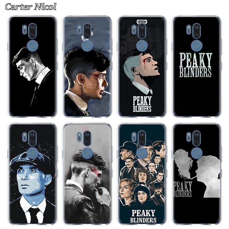 Peaky Blinders Tv Show Siliconen Case Voor Lg G6 G7 G8 Thinq Q51 Q61 Q60 Q70 K40 K50s K51s K61 tpu Clear Soft Cover