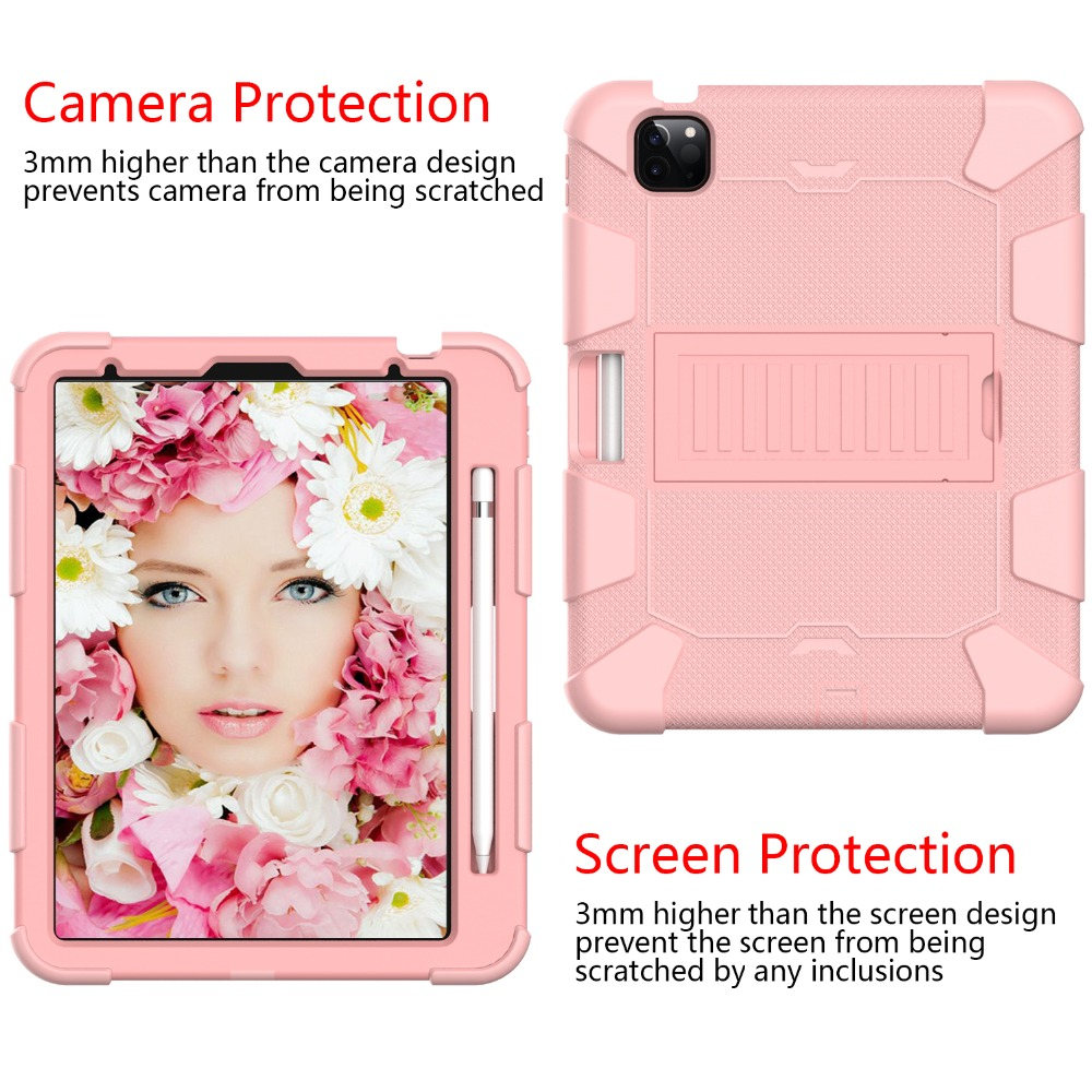 iPad Shockproof Case Duty Tablet Heavy for Hybird 4 2020 inch Rugged Air Kids PC 10.9