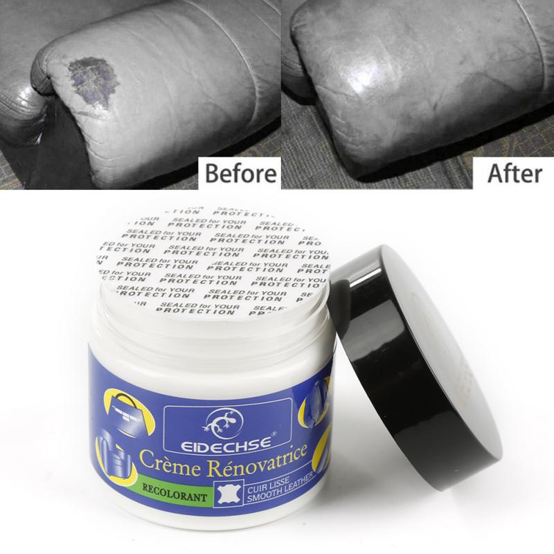 Leather Vinyl Repair Filler Compound Cream For Leather Restoration Cracks Car Seat Sofa Leather Restoration Dropshipping TSLM1