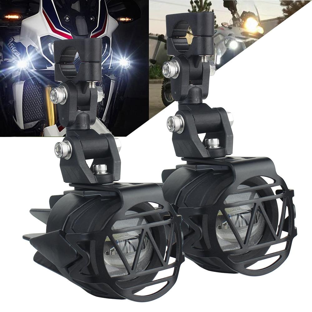 Светодиодный вспомогательный противотуманных фар 6000 К супер яркие противотуманные фары дальнего света светильник светодиодный светильни...