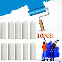 Roller-Sleeves Painting-Supplies Art-Sets White Mini Foam 10PCS 100mm Sponge Durable