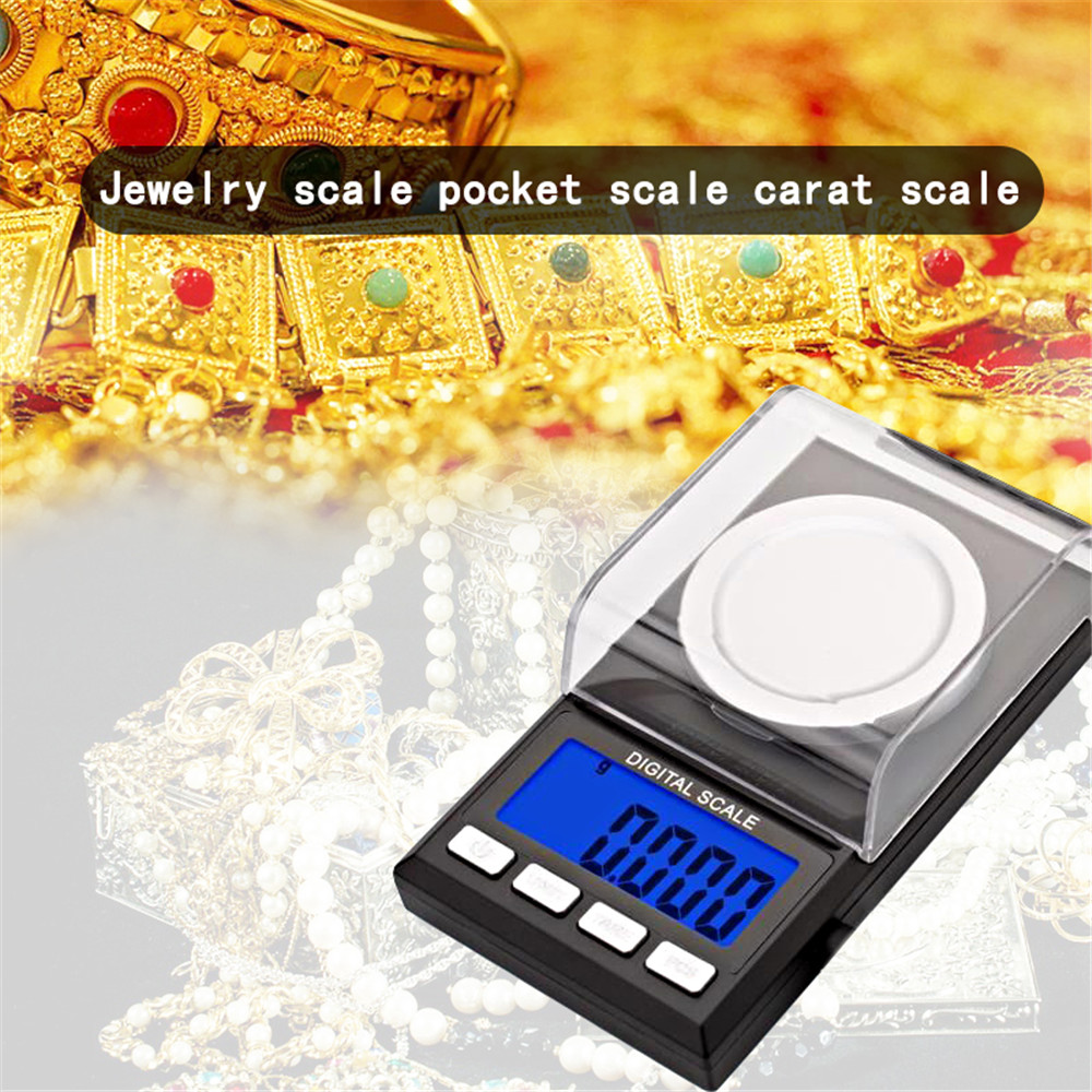 20g/50g/100g 0.001g Digital Counting Scale Precision Portable Electronic Jewelry Scales Gold Germ Medicinal Balance New