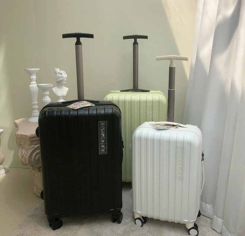 Small fresh luggage universal wheel luggage case 20 inch boarding luggage