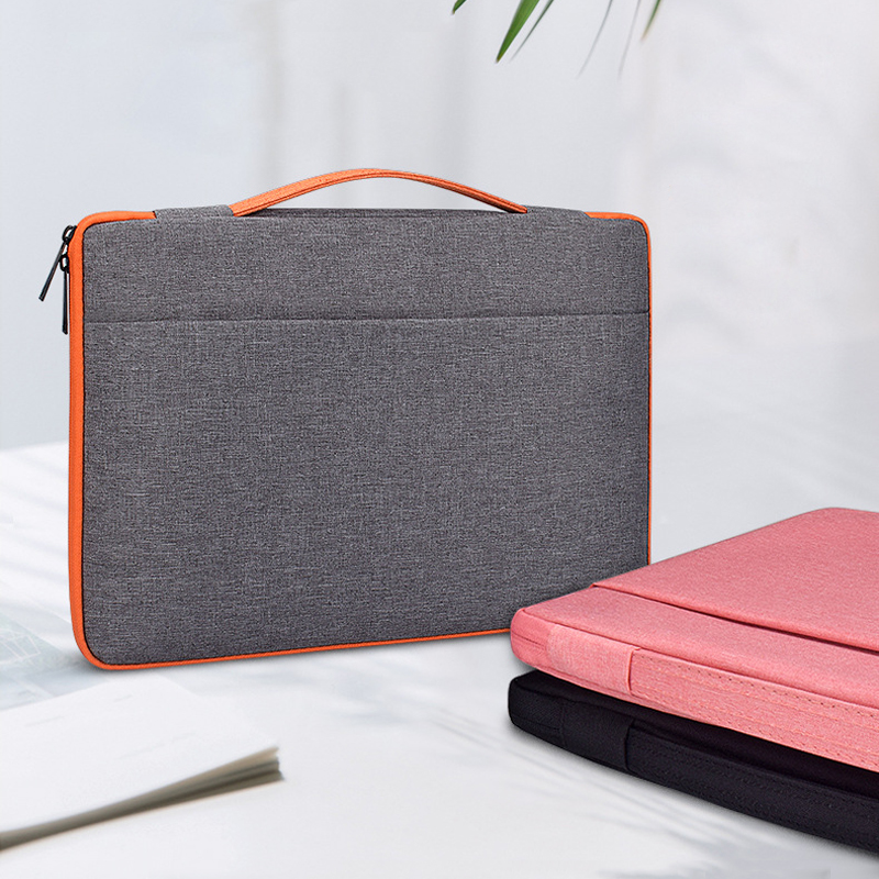 11 13 14 15.4 15.6 Inch Laptop Case Women Handbags Business Computer Sleeve Carrying Bag For Macbook Samsung Asus Dell HP