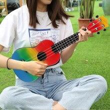 Zebra primavera 21 polegada basswood soprano ukulele guitarra jacarandá 4 cordas ukulele baixo guitarra uke crianças presente instrumentos musicais