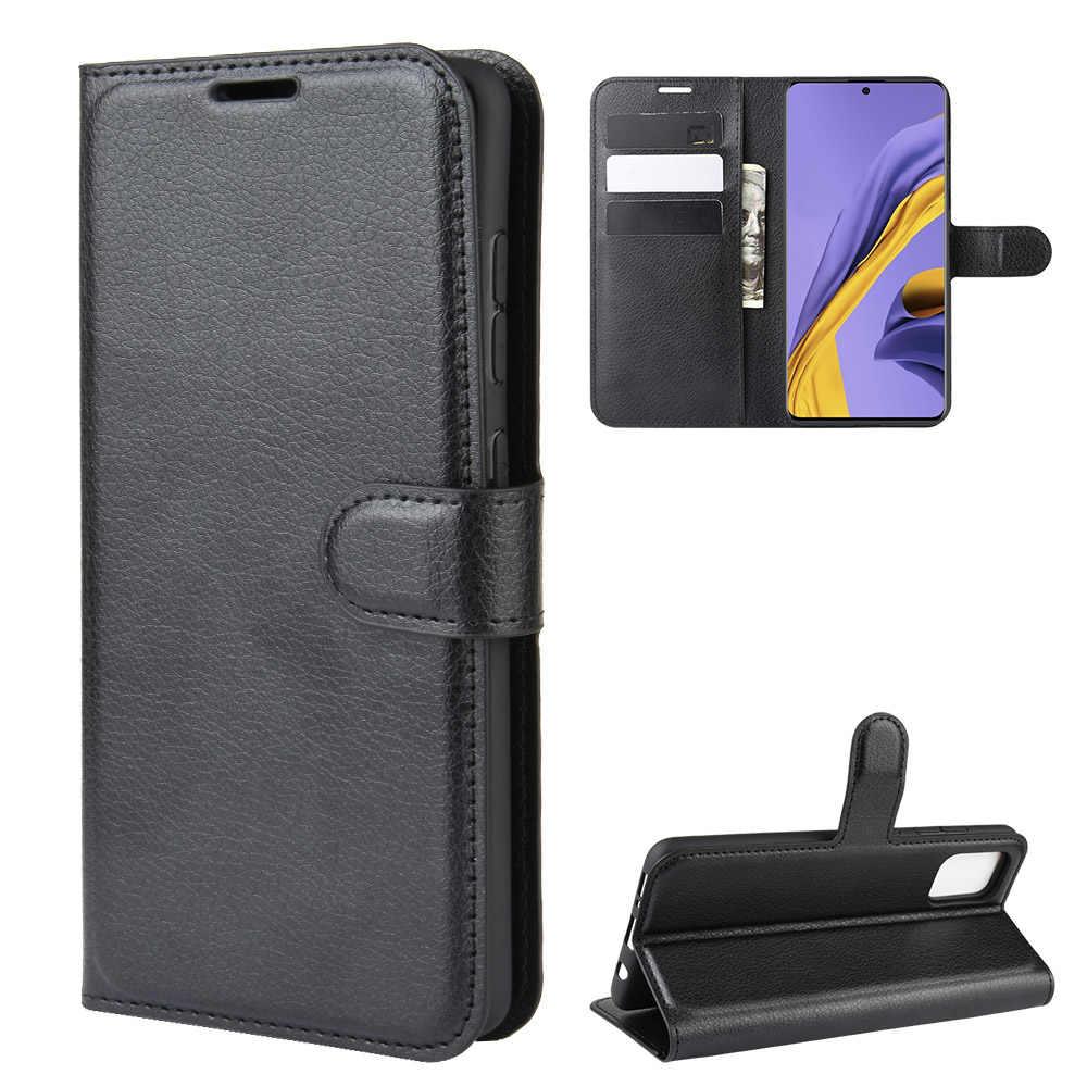 لسامسونج غالاكسي A51 حافظة لينة سيليكون إدراج محفظة قلابة جلدية الحال بالنسبة غالاكسي A51 SM-A515F غطاء مسنده حقيبة الهاتف