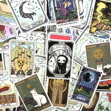 50Pcs/Pack Tarot Card Graffiti Stickers Divination Stickers For Luggage Laptop Refrigerator Motorcycle Skateboard Pegatinas