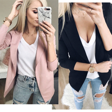 2019 Fashion Women Casual Suit Coat Business Blazer Long Sle