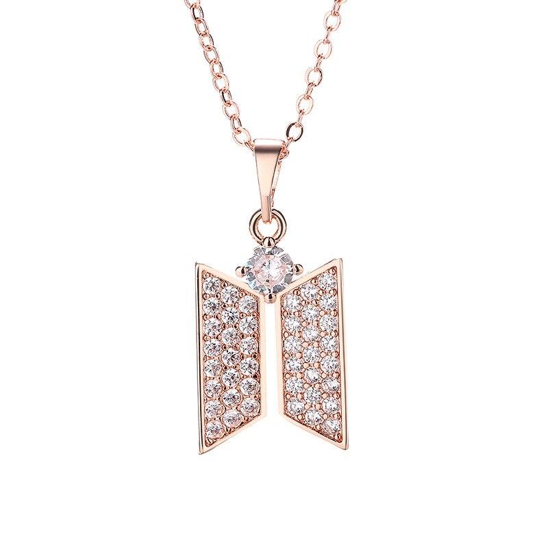 BTS Jewelry Logo Necklace 6