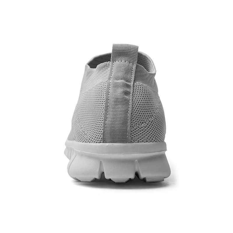 Heißer Verkauf Neue Ultraleicht Komfortable Casual Schuhe Paar Unisex Männer Frauen Socke Mund Walking Turnschuhe Weiche Sommer Große Größe 35-47