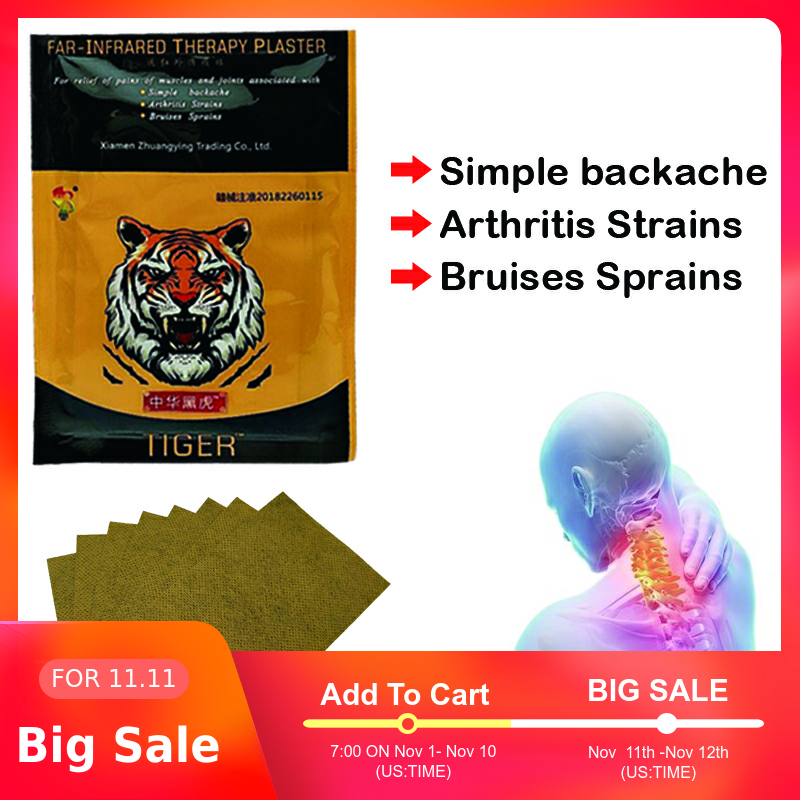 96PCS ZB Knee Joint Patch Pain Relieving Patch Kneeling At Arthritis Back Pain Medical Patches Tiger Balm Medical Plasters