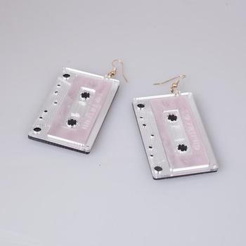 Earrings For Women Kelly Earrings Fashion Charm Eardrop Hip Hop Girls Gift Cute Sweet Heart Exaggeration Special Creativity 2