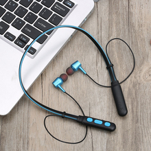 Geartronics Bluetooth Earphone Sport Wireless Headphones Neckband Magnetic Headset Handfree
