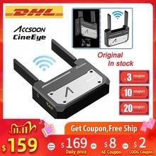 Accsoon CineEye 무선 5G 1080P 미니 HDMI 전송 비디오 송신기 IOS 아이폰 iPad Zhiyun Weebill S PK Hollyland