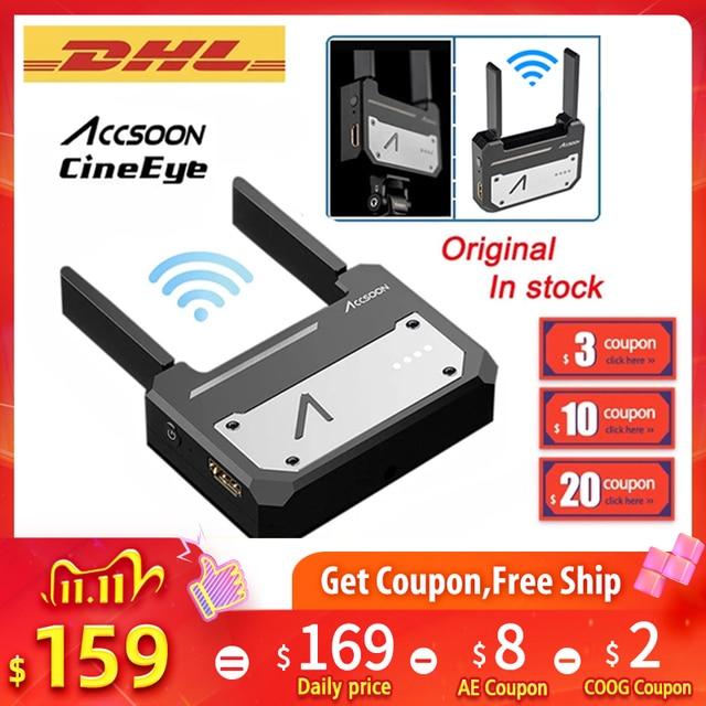 Accsoon CineEye Wireless 5G 1080P Mini HDMI Transmission Video Transmitter For IOS iPhone iPad Zhiyun Weebill S PK Hollyland