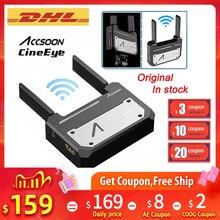 Accsoon CineEye bezprzewodowy 5G 1080P Mini nadajnik wideo transmisji HDMI dla IOS iPhone iPad Zhiyun Weebill S PK Hollyland