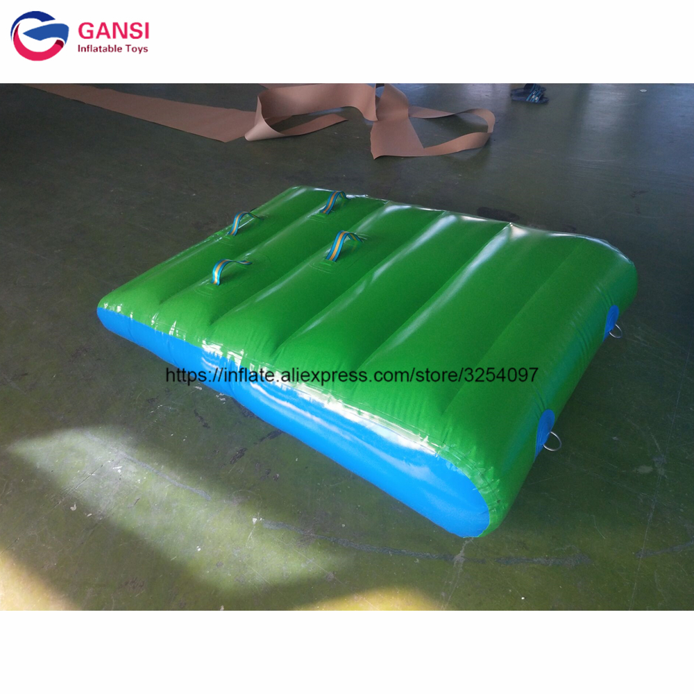 Water Pool Game Inflatbale Ramp Mat 1.5x1m Inflatable Water Ramp For Water Park