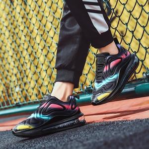 Image 5 - נשים נעלי ספורט סניקרס אוויר כרית מאמני נעלי אישה פלטפורמת Sneaker סתיו החורף הנעלה לנשימה רך סל Femme