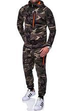 Мужской спортивный костюм топ штаны костюмы с капюшоном пальто
