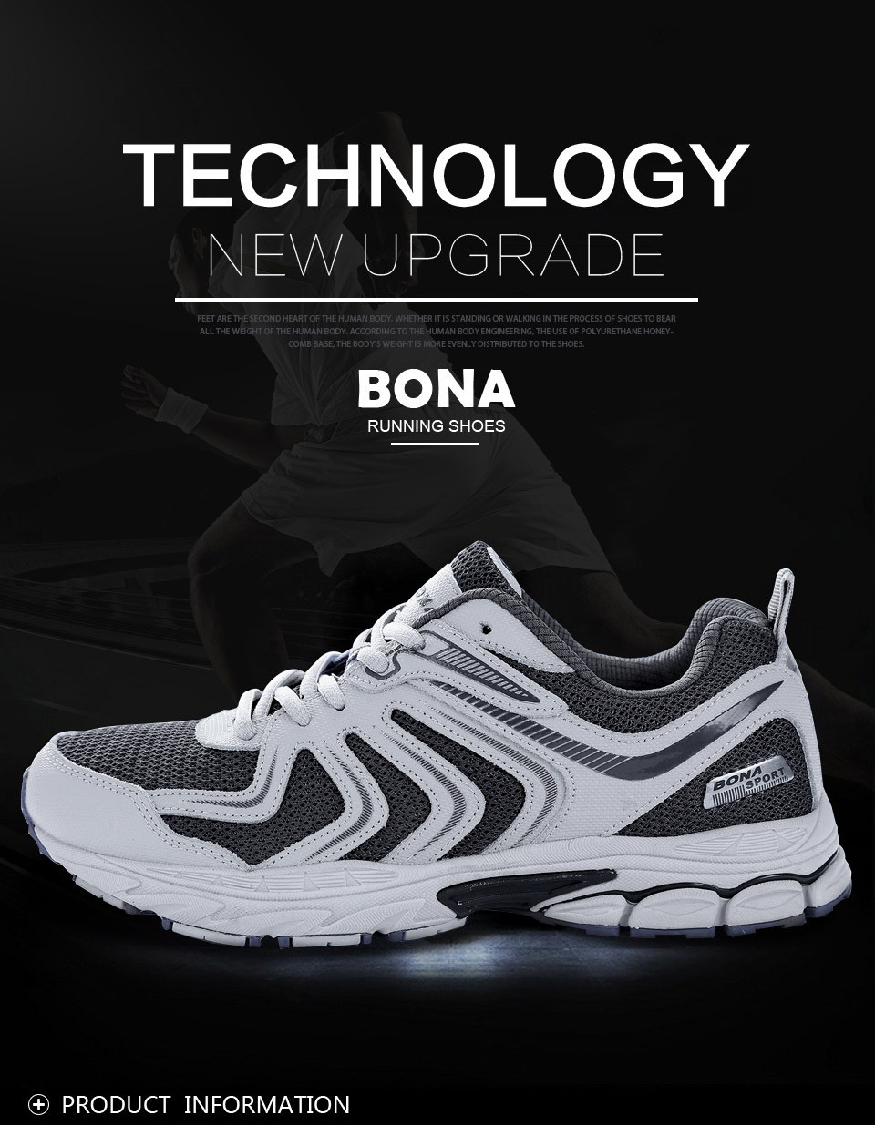 H824c1661420d44d89b7e5ff2015d8d39S BONA New Fashion Style Men shoes Casual Shoes Men Loafers Men Outdoor Sneakers Shoes Mesh Men Flats Free Shipping