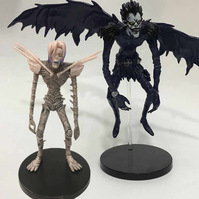 Anime Game Death Note Action Figure PVC Ryuk Ryuuku Rem Figure Deathnote Ryuuku Rem Toys Model Doll Statue for Children
