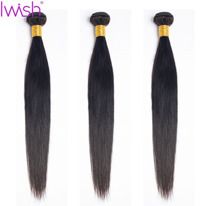 Image 3 - Malaysian Straight Hair Bundles With Closure Human Hair 3 Bundles With Closure Straight Hair With Closure Remy Hair Extension