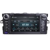 Autoradio 2 Din Car DVD Player For Toyota AURIS Toyota Corolla Altis 2012 2013 Tape Recorder Multimedia GPS Stereo Navigation 3G