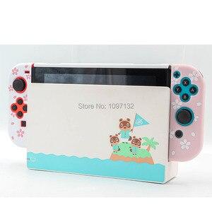 Image 5 - Nintendo anahtarı İnce İnce koruyucu yumuşak kılıf kapak sevimli kabuk nintendo anahtarı konsol Joy Con (doğrudan yerleştirme için)