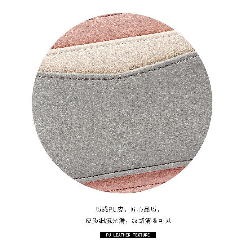 Yue Qian Kay Korean-style Joint Women's Wallet Card Bit More Zip Card Package Keychain Small Wallet Women's Purse