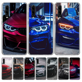 Hot Blue Red for Bmw Phone Case For Huawei P40 P30 P20 10 Mate 10 20 30 Lite Plus Pro P Smart Z + 2019 Popular Coque Cover image