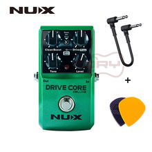 Педаль для гитары nux drive core deluxe электрическая педаль